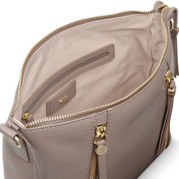 leather Taupe Radley 'Fountain crossbody small bag Road' r7rq5dw