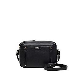 Radley - Black leather 'Penhurst Zip' medium crossbody bag