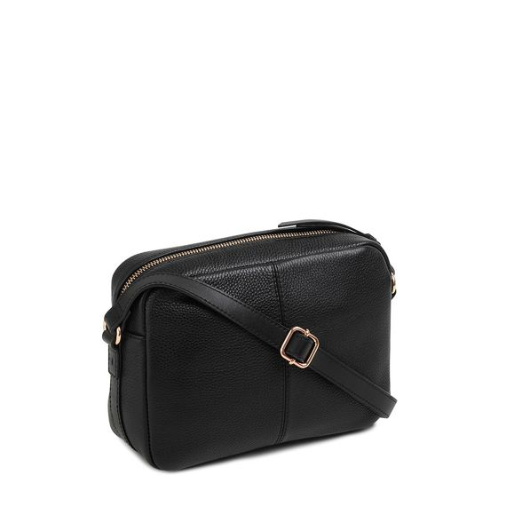 Radley bag leather medium Black crossbody 'Penhurst Zip' Oqr7OwnY