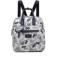 Radley - Ivory 'Data Dog' medium backpack