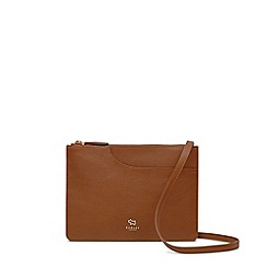 Radley - Tan leather 'Pockets' medium crossbody bag