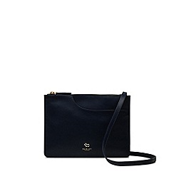 Radley - Navy leather 'Pockets' medium crossbody bag