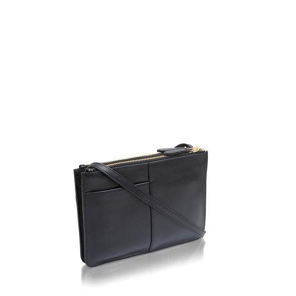 small bag crossbody leather Radley 'Pockets' Black SqxwawXtI