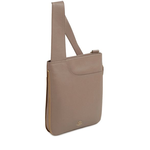 crossbody leather Taupe medium bag Radley 'Pockets' 8Pv0q0w