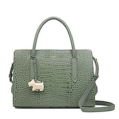 Radley - Pale green leather 'Liverpool Street' medium multiway grab bag