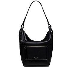 Radley - Black leather 'Eltham Palace' large hobo bag