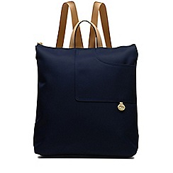 Radley - Navy 'Pocket Essentials' medium backpack