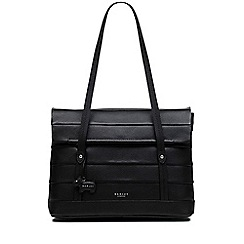 Radley - Black leather 'Babington' medium shoulder tote bag
