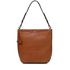 Radley Tan Leather Patcham Palace Medium Hobo Bag