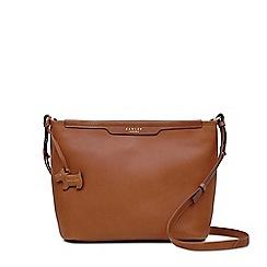 6e88aac13b6 Radley - Tan leather 'Patcham Palace' medium crossbody bag