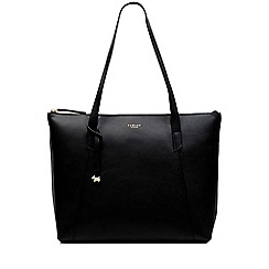 Radley - Black Leather 'Wood Street' Large Shoulder Bag