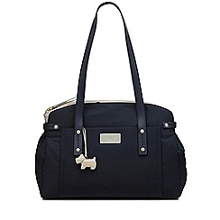 Radley - Navy 'Romilly Street' Large Zip-Top Tote Bag