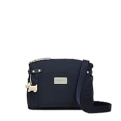 Radley - Navy 'Romilly Street' Medium Zip-Top Crossbody Bag
