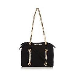 Versace Jeans - Black logo shoulder bag
