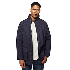 Maine New England - Big and tall navy five pocket car coat