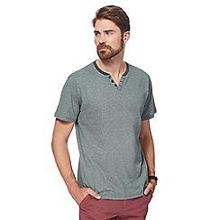 Maine New England - Green feeder striped t-shirt