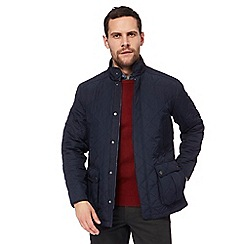 Maine New England - Navy quilted lightweight jacket