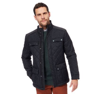 Maine new england green quilted coat