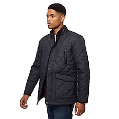 Maine New England - Navy quilted jacket