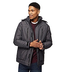 Maine New England - Big and tall blue waterproof coat