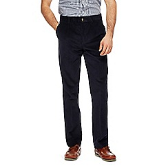 Maine New England - Big and tall navy cord trousers