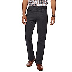 Maine New England - Big and tall grey broken bedford trousers