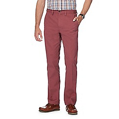 Maine New England - Big and Tall Mid Rose Tailored Cotton Chinos