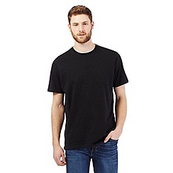 Maine New England - Big and tall black crew neck t-shirt