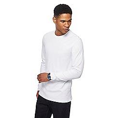 Maine New England - White long sleeve crew neck t-shirt