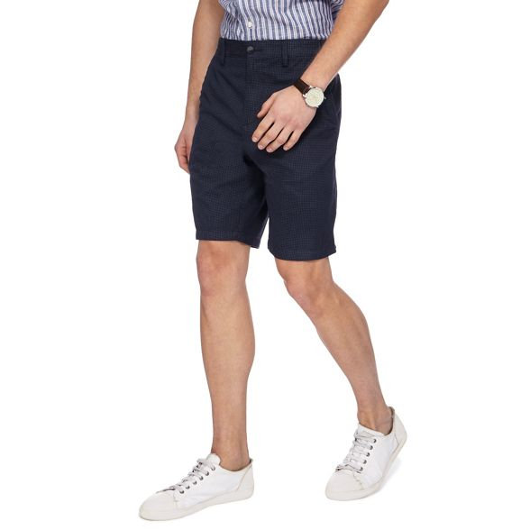 shorts New Maine Navy England checked mini XzUBYwq