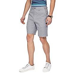 Maine New England - Grey mini geometric print shorts