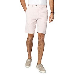Maine New England - Pink striped regular fit shorts