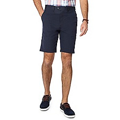 Maine New England - Navy striped regular fit shorts