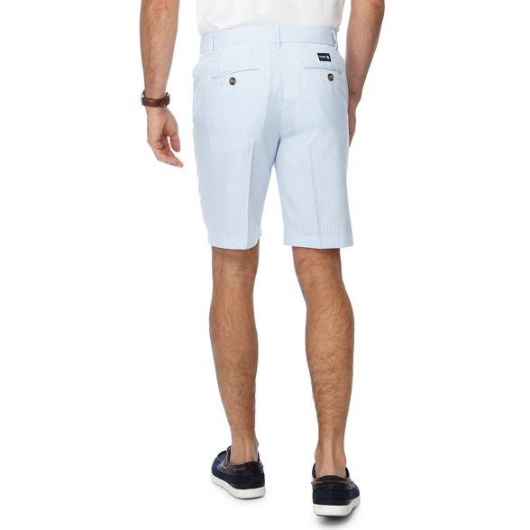 blue England fit Light regular shorts Maine striped New qCOt6t