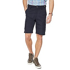 Maine New England - Big and tall navy cargo shorts