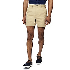 Maine New England - Pack of 2 natural and navy chino shorts