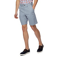 Maine New England - Big and tall pack of two grey and light blue chino shorts