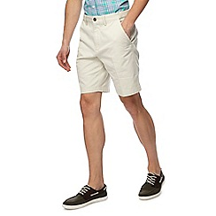 Maine New England - Big and tall pack of two navy and beige chino shorts