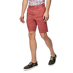 Maine New England - Big and tall pack of two navy and terracotta chino shorts
