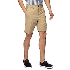 Maine New England - Big and tall pack of two grey and natural chino shorts