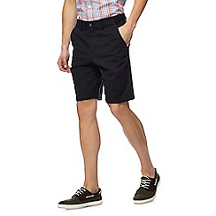 Maine New England - Pack of two white and black chino shorts