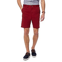 Maine New England - Red chino shorts