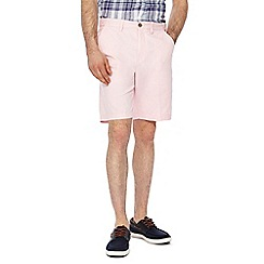Maine New England - Pink regular fit chino shorts