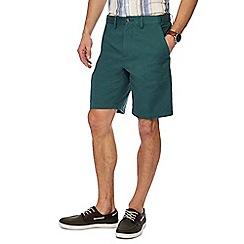 Maine New England - Green regular fit chino shorts