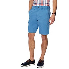 Maine New England - Blue regular fit chino shorts