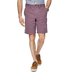 Maine New England - Big and tall mauve chino shorts