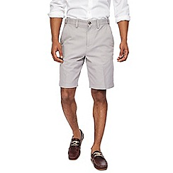 Maine New England - Pale grey chino shorts