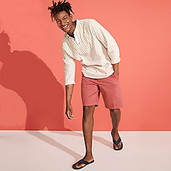 Maine New England - Big and tall terracotta chino shorts