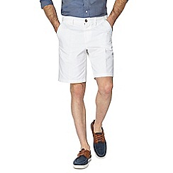 Maine New England - White chino shorts