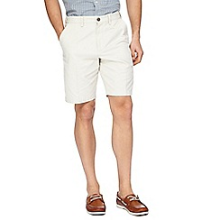 Maine New England - Off white chino shorts